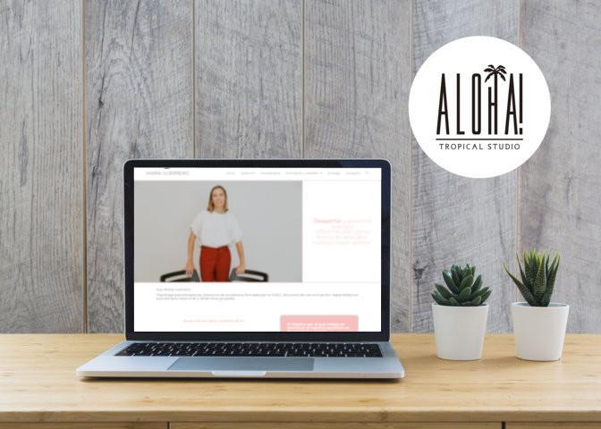 Web Corporativa – María Guerrero Orzáez
